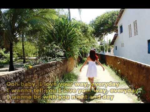 Baby I Love Your Way - Peter Frampton (With Lyrics On Screen)