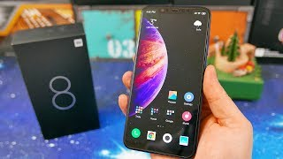 Xiaomi Mi 8 ( Snapdragon 845, AMOLED, NFC, IMX363 ) - Best Value Flagship in 2019