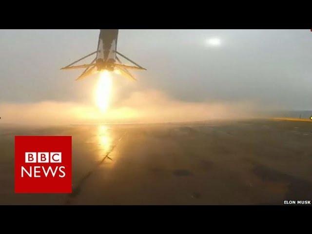 SpaceX rocket explodes during landing - BBC News