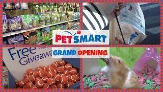 PETSMART GRAND OPENING! NEW STORE!