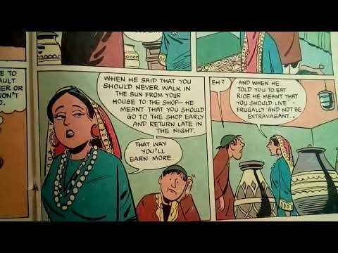 Hidden Wisdom | Funny Indian folktale for kids! | Tinkle Comics in English | Indian Story Read Along