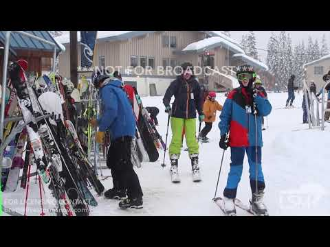 12-02-2017 Snoqualmie Pass, Washington - OPENING DAY at The Summit at Snoqualmie - Heavy Snow and Dr