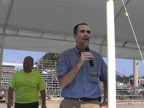 Senator Northam Speaks at Nandua High School's Relay for Life
