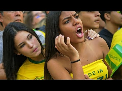 Brazil, Swiss fans react to 1-1 draw at World Cup