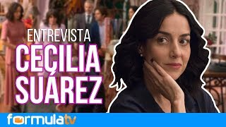 La casa de las flores | Cecilia Suárez desmiente que no pueda hablar como Paulina de la Mora
