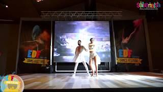 Onur - Gozde Salsa Dance Performance   EDF-2018