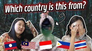 [SEA Ghost Nationality Quiz] Which country is 'POCONG' from?