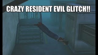 CRAZY GLITCH IN RESIDENT EVIL!! FROM LIVE STREAM!!