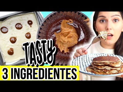 Testing Tasty 43 Easy 3-Ingredient Recipes PART 2 - Caro Trippar from YouTube · Duration:  16 minutes 7 seconds