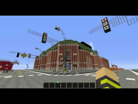 Minecraft | Oriole Park at Camden Yard [FUNCTIONING SCOREBOARD]