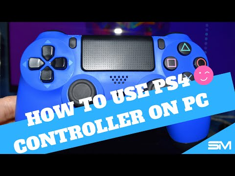 How To Use PS4 Controller On PC Wirelessly! [TUTORIAL]