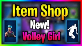 Fortnite Item Shop (January 26th) | *NEW* Volley Girl Skin Released!! | Fortnite Extra