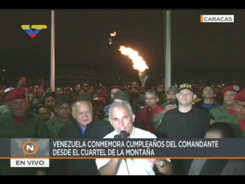 Celebran 63 años del nacimiento del Comandante Chávez en el Cuartel de la Montaña