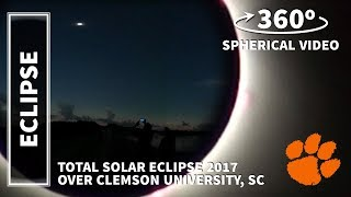 Video Total Solar Eclipse 2017 | 360° 4K Video at Clemson University download MP3, 3GP, MP4, WEBM, AVI, FLV Juli 2018