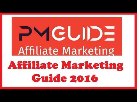 Affiliate Marketing Guide 2016