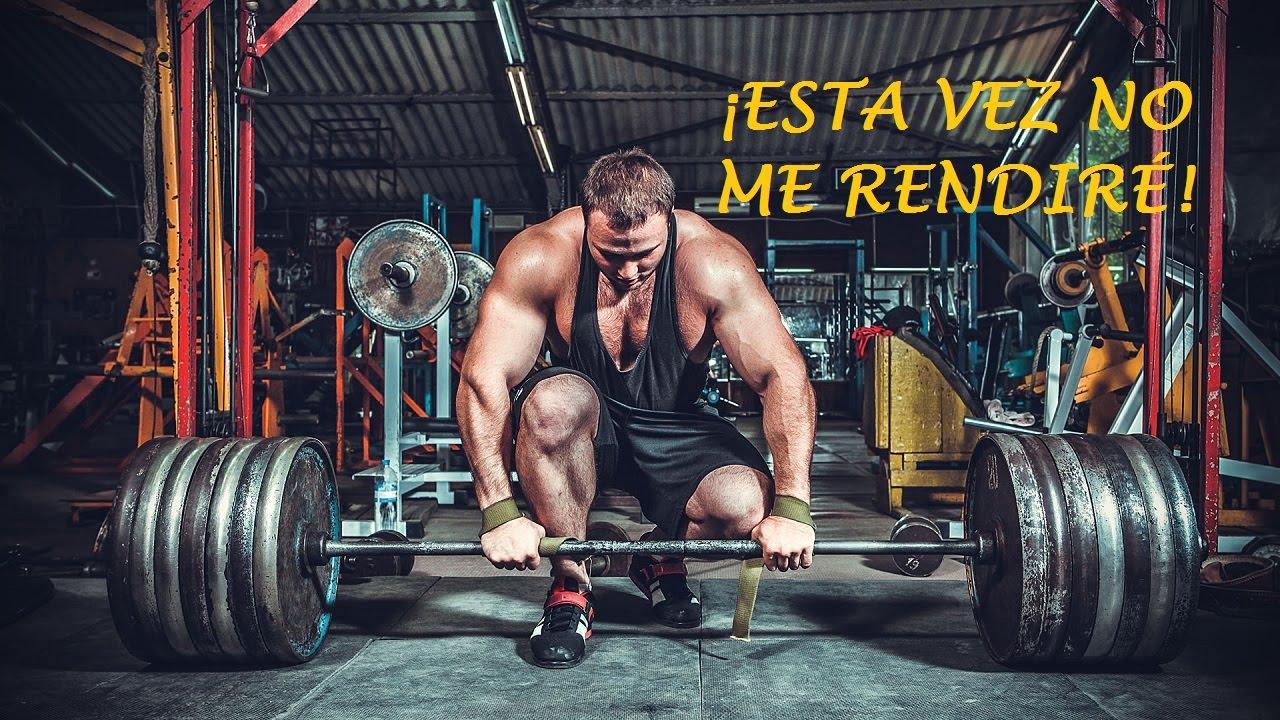 Motivación Gym Esta Vez No Me Rendiré