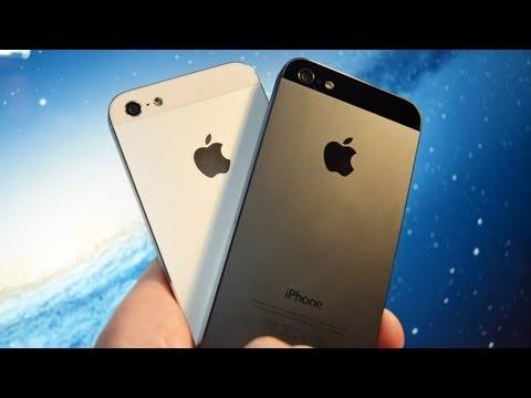 Apple iPhone 5 (White vs Black): Unboxing & Tour