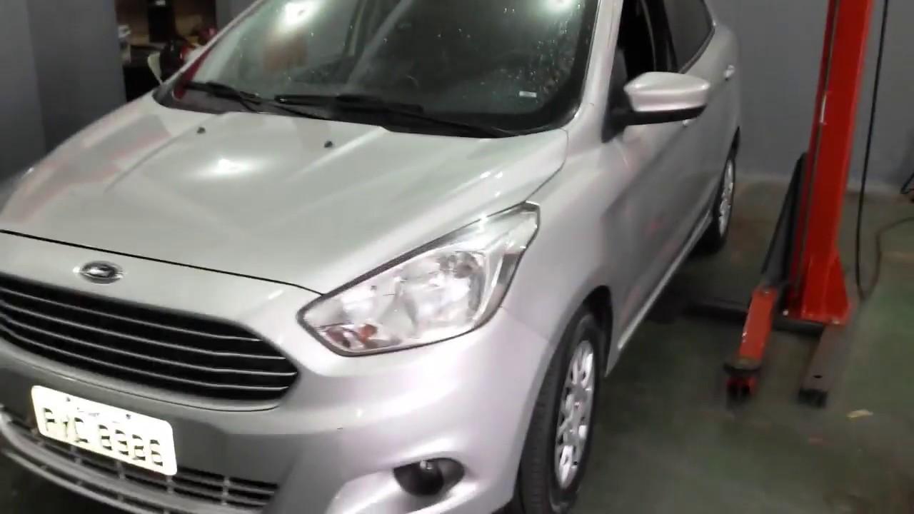 Novo Ford Ka Troca Das Pastilhas De Freio Youtube