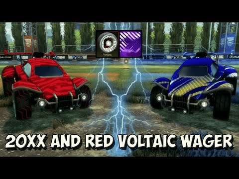 *EXTREME RAGE* INSANE 20XX, HEXED & RED VOLTAIC 1v1 ROCKET LEAGUE WAGER | pickapixel vs ZachPlayz