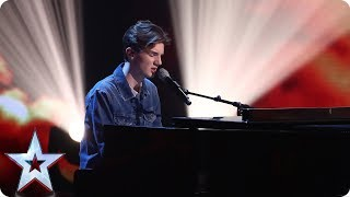 Harry Gardner covers Ed Sheeran's Supermarket Flowers | Semi-Final 2 | Britain's Got Talent 2017
