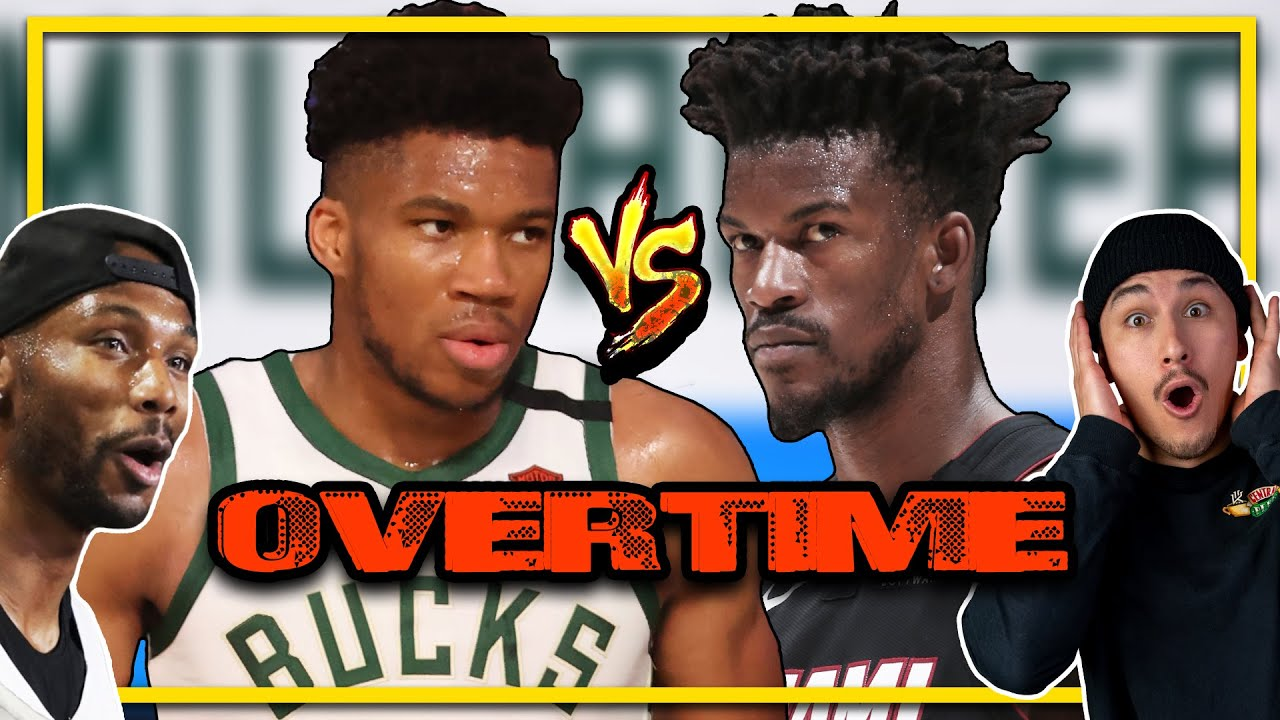 Miami Heat Vs Milwaukee Bucks Overtime Highlights!