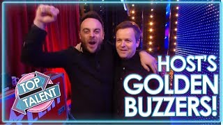 PRESENTER Golden Buzzers! Part One | Top Talent