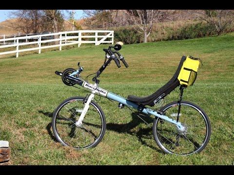 First ride recumbent bike (Giro 26)