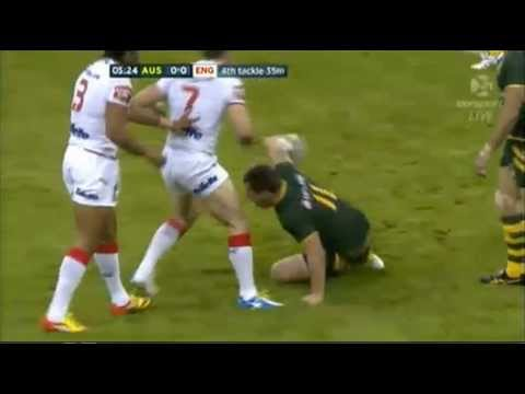 1st Half Australia Vs England Rugby League World Cup 26/10/2013
