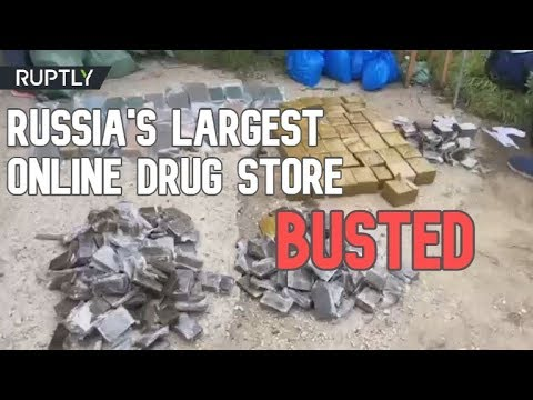 RT: Russian FSB busts country's largest online drug store