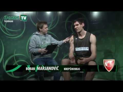 Žalgiris TV: gyvi pokalbiai su P.Jankūnu, J.Andersonu, B.Marjanovičiumi ir M.Williamsu
