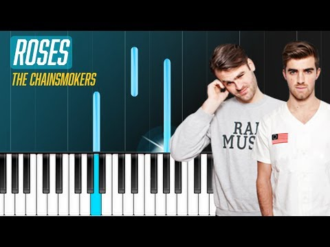 "The Chainsmokers - ""Roses"" Ft Rozes Piano Tutorial - Chords - How To Play - Cover"