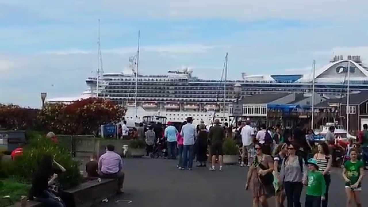 Cruise Ship Pier San Francisco