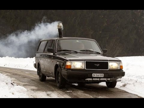 Wood Stove In Volvo Youtube
