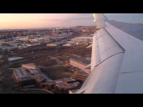 Early Morning Madrid Landing - 2015