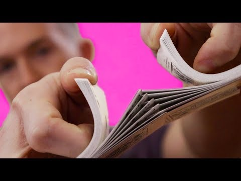 How To Shuffle Cards For Beginners // Riffle Shuffle With Bridge In The Hands Tutorial