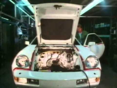 Porsche 928 - Assemby Line Production, ca. 1986 (English version)