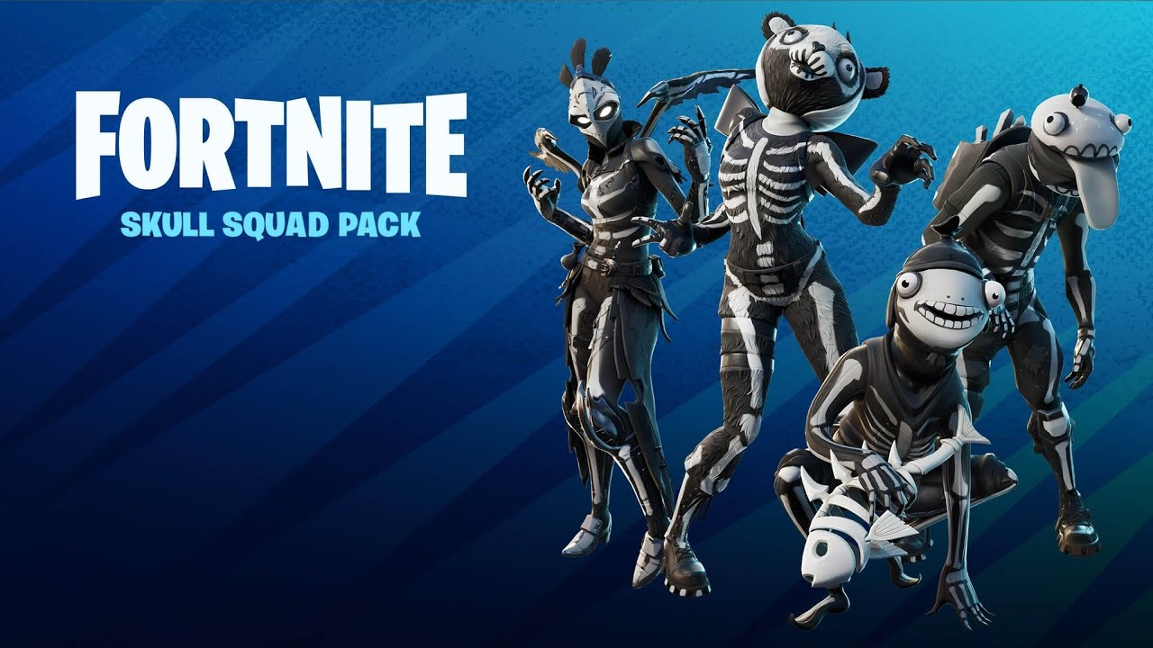 Download Fortnite Skull Squad Pack Review & Gameplay!  (Is The SKULL SQUAD PACK Worth $19.99?)