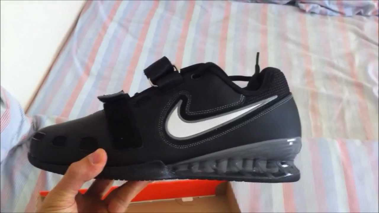 fabbf1edf40464 Unboxing and testing Nike Romaleos 2 - YouTube