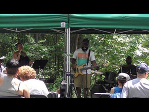 Concert at Van Cortlandt Park, The Bronx. July 17, 2016.