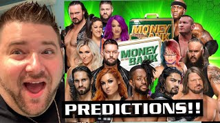 Grims WWE MONEY IN THE BANK PREDICTIONS - RSC ULTIMATE ELITE Figure Unboxing