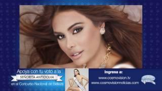 Señorita Antioquia en el Concurso Nacional de Belleza 2017