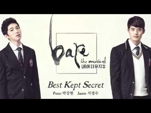2016 베어 더 뮤지컬 bare the musical - 'Best kept secret' MV (피터'박강현', 제이슨'서경수')