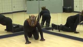 Likewise dancing in a special performance of Animals