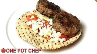 Lamb And Feta Pitas - Recipe