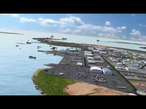 Land Development Corporation - Marine Industry Park fly thro