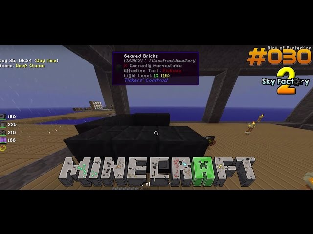 Let's Play Minecraft Sky-Factory 2 | Die Smeltery entsteht | Folge #030