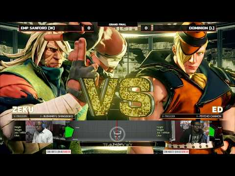NLBC 113 - SFVAE - Grand Final - EMP Sanford (Zeku) vs vs Dieminion (Ed) [1080p/60fps]