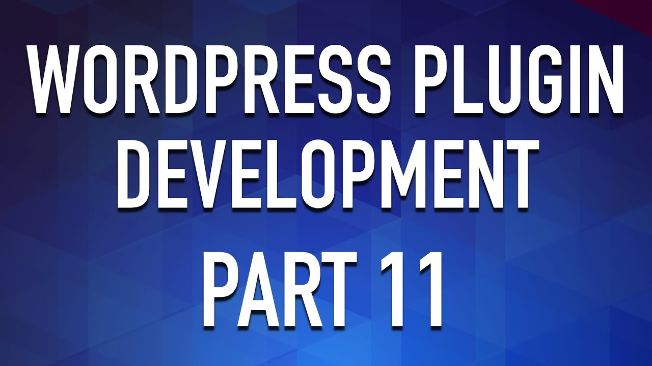 WordPress Plugin Development - Part 11 - Classes as Services