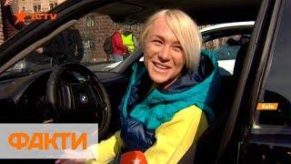 Ралли в Киеве: женщины дали мастер-класс по управлению авто