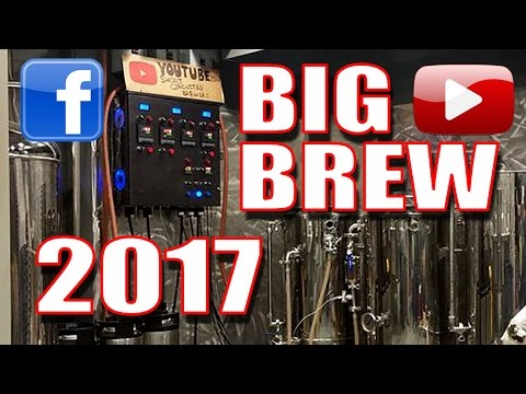 Short Circuited Brewers Big Brew Day 2017
